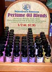 Salandrea's Essences Perfume Oil Blends